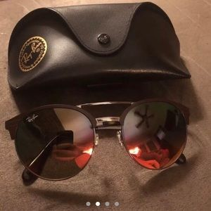 79df7000f0f Ray-Ban Accessories - Ray Ban Highstreet RB3545 two tone sunglasses